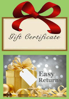 Gift Card and Easy Returns