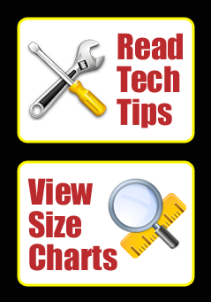 Tech Tips and Size Charts